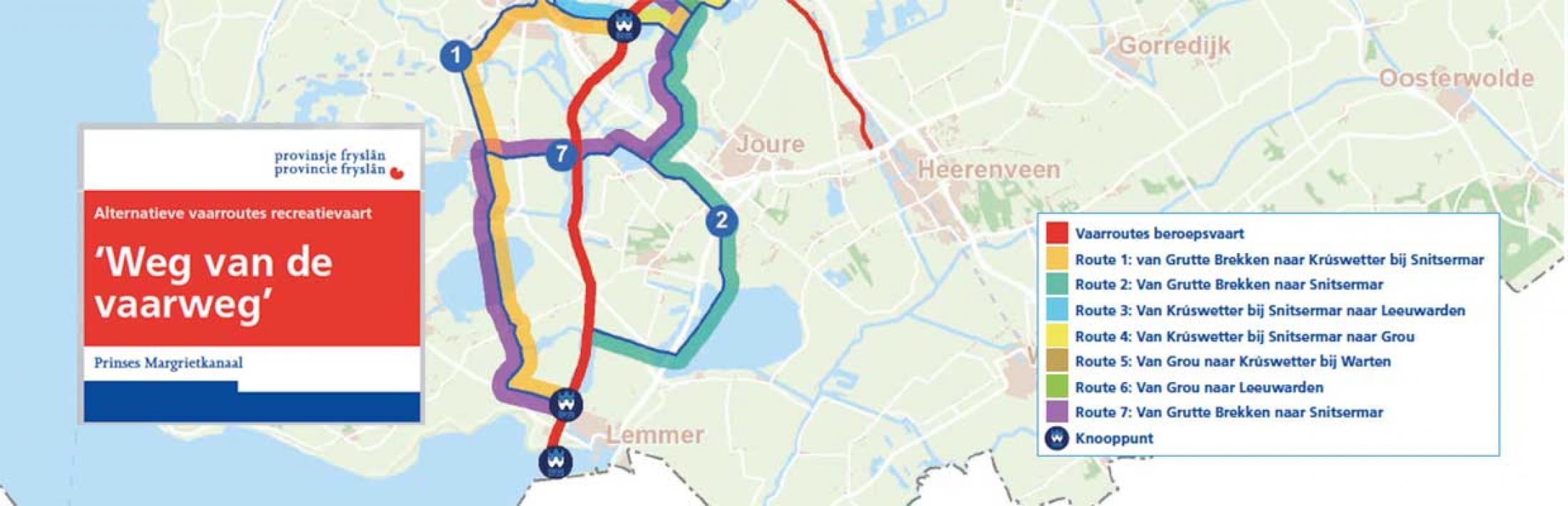 Zeven Alternatieve Routes Langs Het Prinses Margrietkanaal Pm
